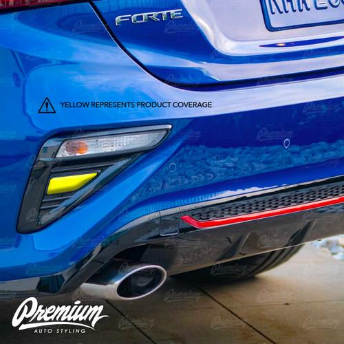 Smoked Reverse Light Overlays | Kia Forte 2020-2021