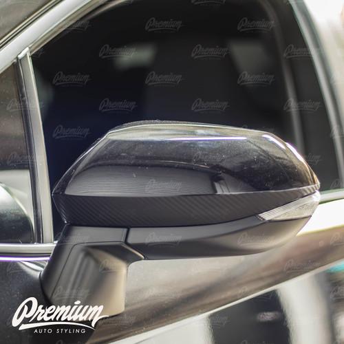 Mirror Accent Overlay - Carbon Fiber | 2020-2021 Toyota Corolla