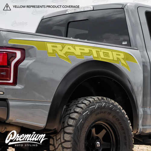 Ford Raptor Bedside Vinyl Graphics | 2017-2020 Ford Raptor