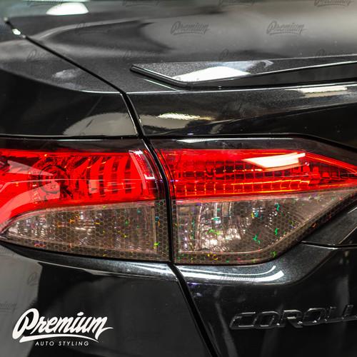 Tail Light Smoke Overlay - BioHex Tint | 2020-2021 Toyota Corolla Sedan