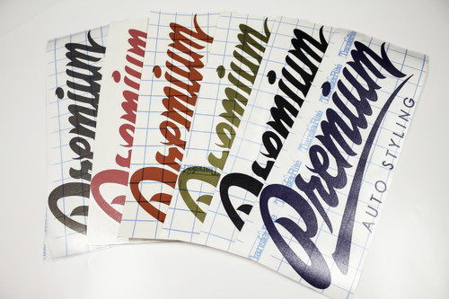 "14"" Premium Signature Logo Decal"