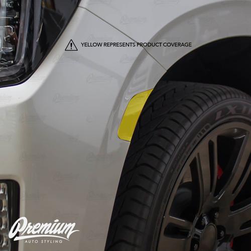Smoked Front Side Reflector Overlays | 2021 GMC Yukon Denali