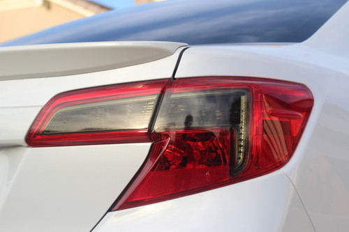 Smoked Reverse / Turn Signal Light Vinyl Overlay (2012-2014  Camry)
