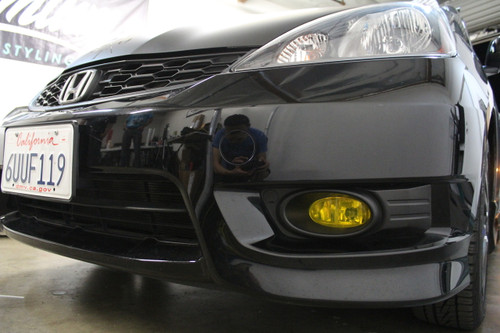 2009 - 2012 Honda Fit Pre-Cut Fog Light Overlays
