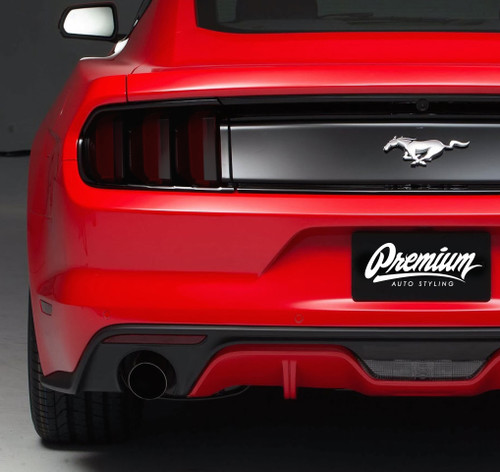 Mustang Smoked Tail Light Tint (2015-2017)