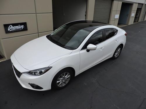 2014 - 2015 Mazda 3 Sedan Vinyl Roof Wrap Kit