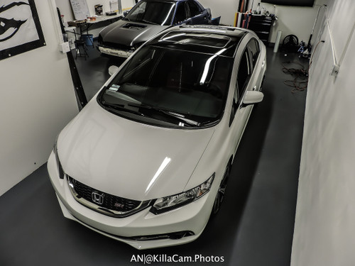 2015 Civic Coupe Vinyl Roof Wrap Kit