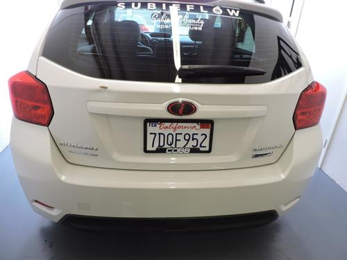 Red Tail Light Vinyl Overlays | Fits Subaru Crosstrek And Impreza