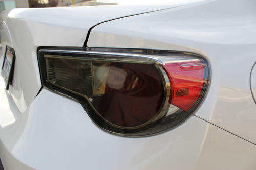 Tail Light Overlay (Face Only) - Smoke Tint | 2012-2016 Subaru BRZ