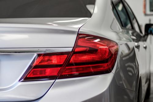 Tail Light Reverse Light + Turn Signal Red Tint Overlays | 2013-2015 Honda Civic Sedan