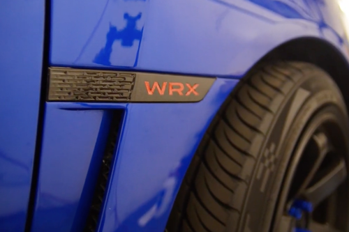 WRX Badge Blackout kit + Lettering Inlays (2015-2019 WRX)