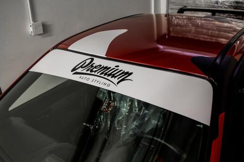 Premium Signature Window Banner ( White / Black )