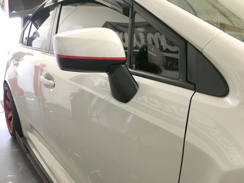 Custom Vinyl Decal Logo Taillight Cover Wrap Kit for 05-10 Toyota Scion tC Black
