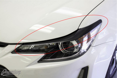 Sleek Eyelid Vinyl Overlay (2014-2017 Scion TC)