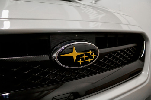 Front & Rear Emblem Vinyl Overlay (Choose Your Color Stars) | 2015-2020 Subaru WRX/STI
