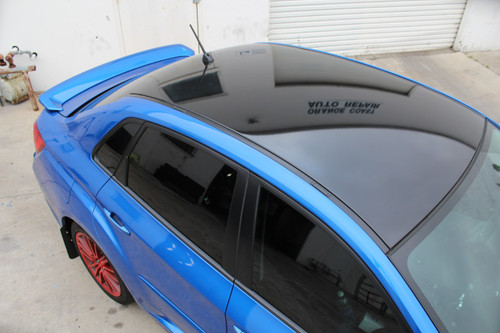 2008-2014 WRX & STI / 2008-2011 Impreza Sedan Pre-Cut Roof Vinyl Overlay