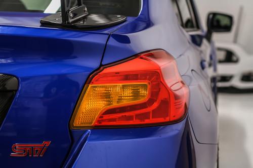 JDM Amber Tail Light Overlay   2015-2020 Subaru WRX / STI