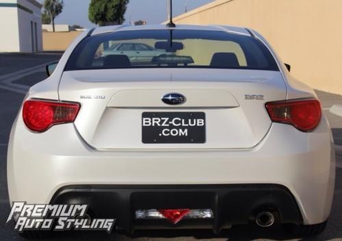 SUBARU BRZ  / SCION FRS Pre cut redout tail light overlays w/ smoke inserts.