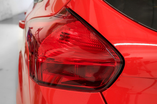 Tail Light Reverse Red Tint Overlay | Ford Focus ST 2015-2019