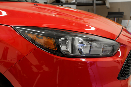 Headlight Amber Delete Overlays | 2015-2019 Ford Focus ST