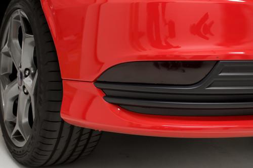 Rear Bumper Reflector Overlay Set - Smoke Tint   2015-2019 Ford Focus ST