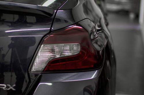 Smoked Taillight Tint Kit w/ Reverse cutout   2015-2021 Subaru WRX / STI