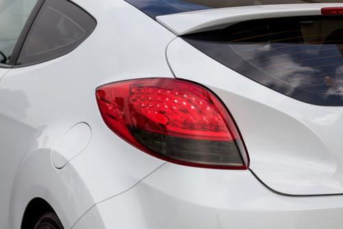 Tail Light Insert Overlay - Smoke Tint | 2011-2017 Hyundai Veloster