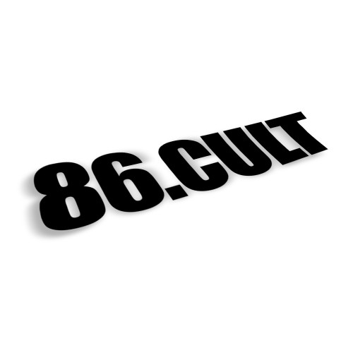 86 Cult Decal | 10 inch (Choose Your Color)