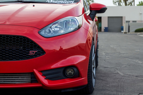 Fog Light Tint Overlay - Rally Yellow/Smoke | 2013 -2018 Ford Fiesta ST