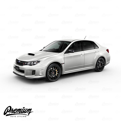 Window Trim Chrome Delete Black Out Kit (Gloss Black / Satin Black ) | 2008-2014 Subaru Impreza WRX / STI Sedan