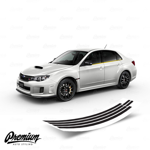 Window Trim Chrome Delete Black Out Kit | 2008-2014 Subaru Impreza WRX / STI Sedan