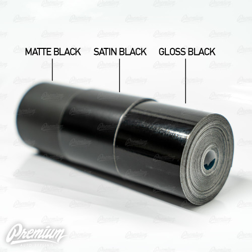 3M Trim Wrap ( Gloss Black Chrome Delete )