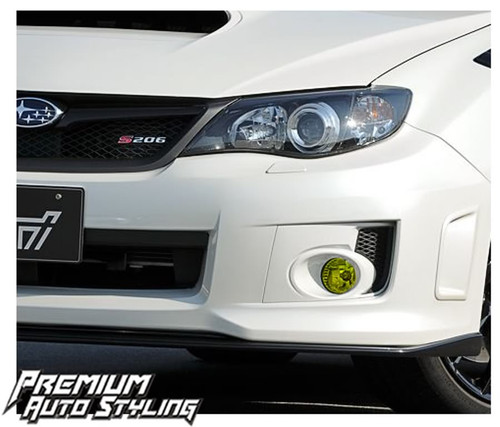 Impreza Yellow Tinted Fog Lights
