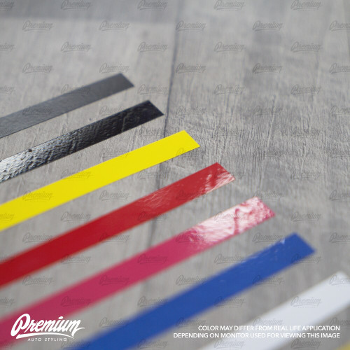 Rear Bumper Pinstripe (Choose Your Color) | 2012-2017 Subaru BRZ