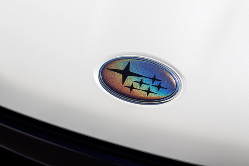 Psychedelic Front & Rear Emblem Overlays (Choose Your Color Stars) | 2015-2021 Subaru WRX / STI