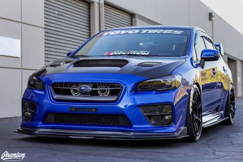 Front Turn Signal Smoke Tint Overlays | 2015-2020 Subaru WRX/STI