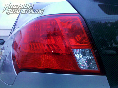 Tail light Turn Signal Light Red Tint Insert | 2008-2014 WRX & STI / 2008-2011 Impreza Sedan