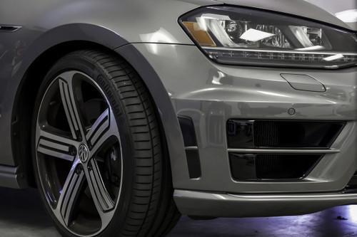 Front Bumper Accent Overlay    2014-2017 Volkswagen Golf R   MK7