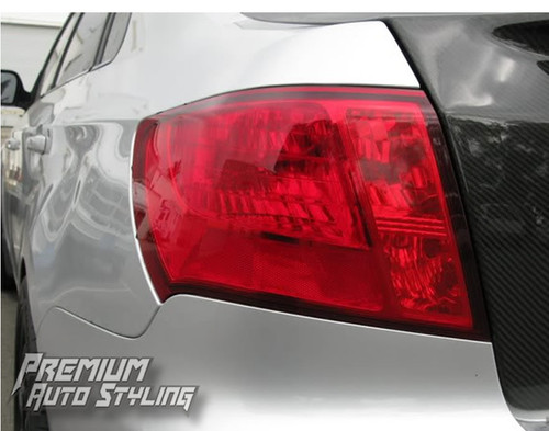 Tail Light Overlay Red Tint Insert | 2008-2014 WRX & STI / 2008-2011 Impreza Sedan