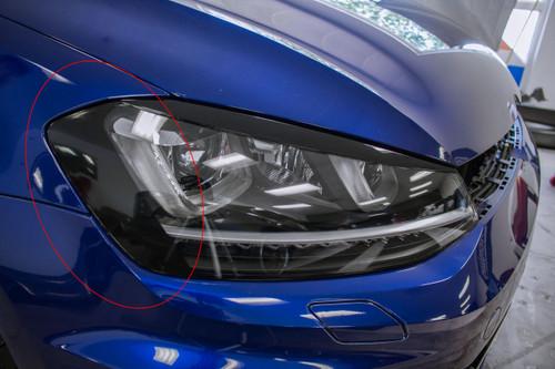 Headlight Amber Delete Tint Overlay (2015-2017 Golf R & GTI)