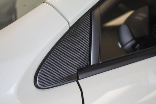Carbon Fiber Quarter Window Overlay  (2015-2019 WRX / STI)