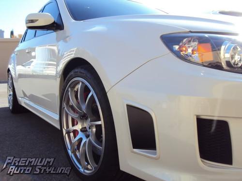 2011-2014 SUBARU WRX STI Precut Bumper Vent Insert Overlay