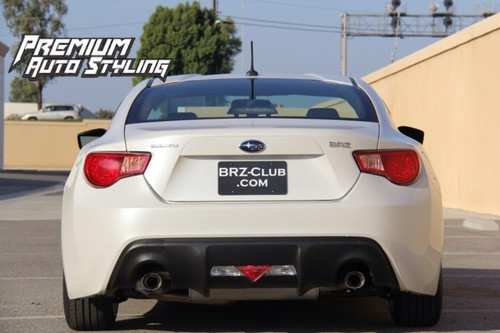 Tail Light with Custom Cut Out Overlay - Red Tint | 2013-2017 Scion FRS