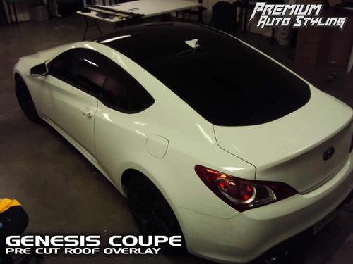 Roof Vinyl Overlay (2009-2012 Genesis Coupe)