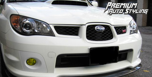 Subaru Impreza Yellow Fog Light Tint Overlays