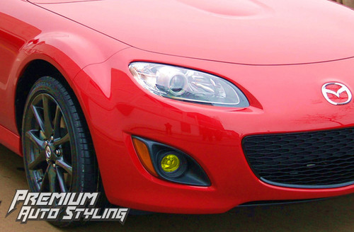 Mazda MX-5 Pre Cut Yellow Fog Light Tint Overlays