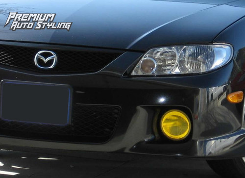 Mazda Protege 5 Pre Cut Yellow Tint Fog Light Vinyl Overlays