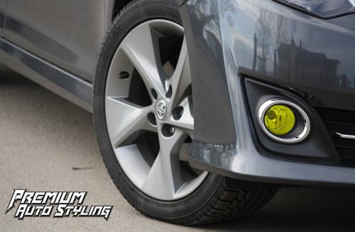2012 Toyota Camry Fog Light Tint Vinyl Overlays