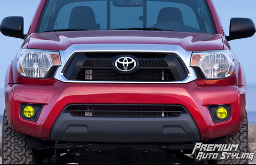 Toyota Tacoma Yellow Tint Film Fog Light Vinyls