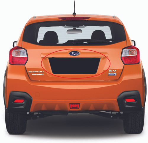 License Plate Insert (2013-2017 Crosstrek XV)